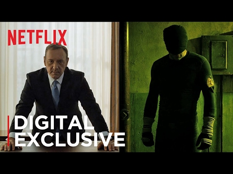 Netflix: The Originals - Kevin Spacey and Charlie Cox - Episode 1