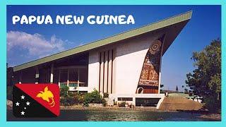 PAPUA NEW GUINEA, rare views inside the PARLIAMENT in PORT MORESBY
