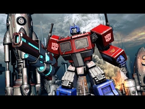 Transformers: Fall of Cybertron 'G1 Optimus Prime Trailer' TRUE-HD QUALITY