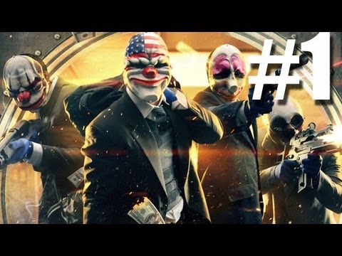 Payday 2 Walkthrough Part 1 - Bain Jewelry Store Day 1 (Xbox 360)
