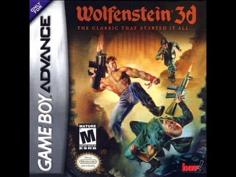 Review of Wolfenstein for GBA by Protomario