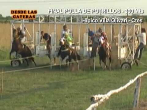 MARTINA - Final Polla de Potrillos - Villa Olivari 11-03-11