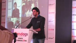 Imran Abbas, singing Tum Hi Ho Meri Aashiqui, at Indiblogger Zingadi Meet, Mumbai