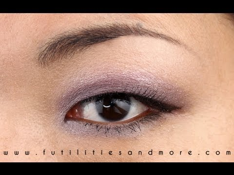 Violet Smokey Glitters A Prom Look Makeup Tutorial for Asian Monolid