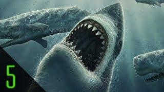 5 Giant Monsters Hidden in the Sea - Dark5