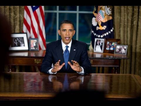 President Obama's Oval Office Address on BP Oil Spill & Energy Video