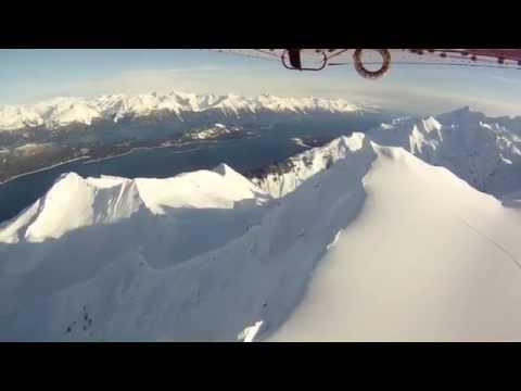 Winter Alaska ski plane Haines Alaska - Fly with Paul