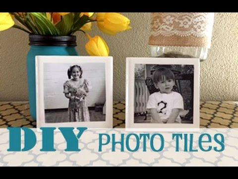 DIY Photo TIles   #54