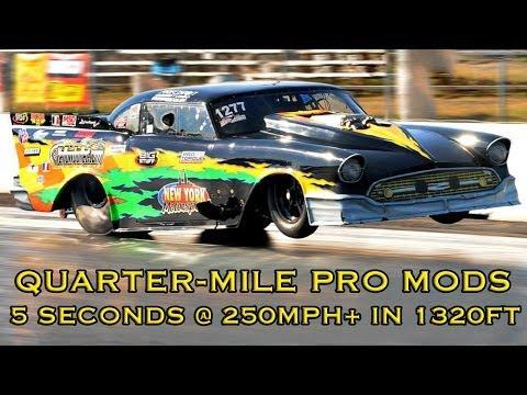 Quarter-Mile Pro Mod Racing at Maryland International Raceway