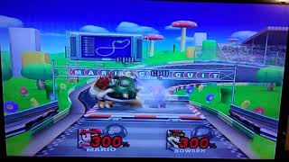 Let's Play: Super Smash Bros. Brawl Wii! 15-Second Brawl The Epic Fight: Mario Vs Bowser