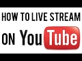 How To Live Stream On YouTube From Your iPad, iPhone or iPod 2017.(W/O 1,000 subscribers)