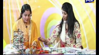 Mizhiyoram with Beaded Ornament Jewellery Designer(May13)Part 1