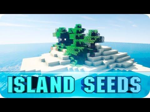 Minecraft Seeds - TOP 10 Survival Island Seeds! The Best Islands for Minecraft 1.8.4 / 1.8 / 1.7