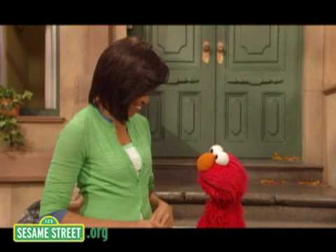 Sesame Street: Michelle Obama and Elmo - Healthy Habits
