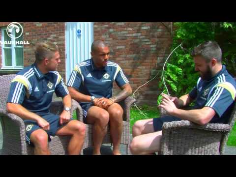 Northern Ireland midfielder Stuart Dallas is joined by Jamie Ward and Josh Magennis as Dallas acts as the question master and quizzes the pair on variety of topics! Who would have thought Magennis...