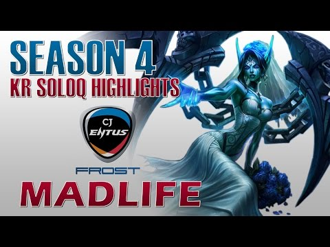 CJ Frost MadLife - Morgana Support - KR DuoQ Highlights