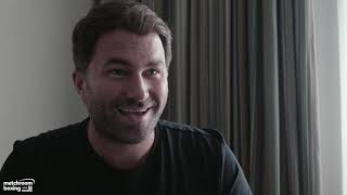 Eddie Hearn talks promoting KSI vs Logan Paul 2 rematch