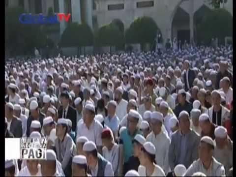 30 Ribu warga muslim China di Uygur laksanakan shalat Idul Fitri - BIP 07/07