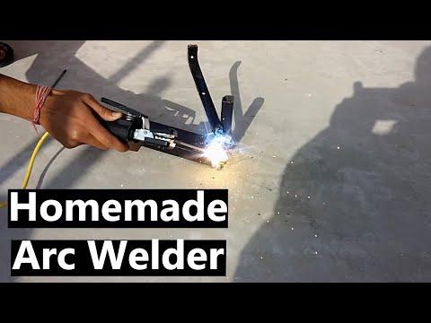 Homemade Arc Welder- Stick Welder using MOT(60FPS)