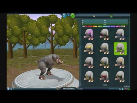 My Sixth Spore Creature - Rhinote