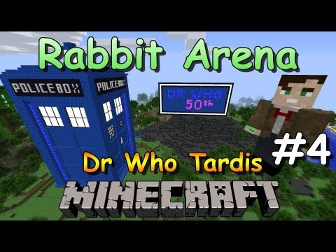 Minecraft Tardis Build Doctor Who 50th Anniversary