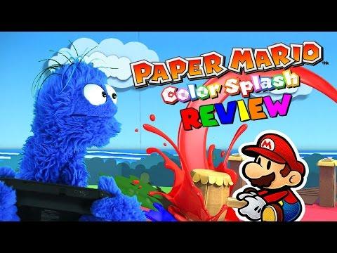 Paper Mario Color Splash Review │ Splash. or Trash? (Or 'Stache?)