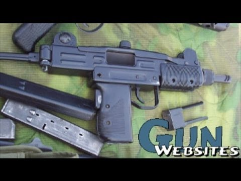 Shooting Mini-Uzi Full Auto @ Machine Gun Fundraiser