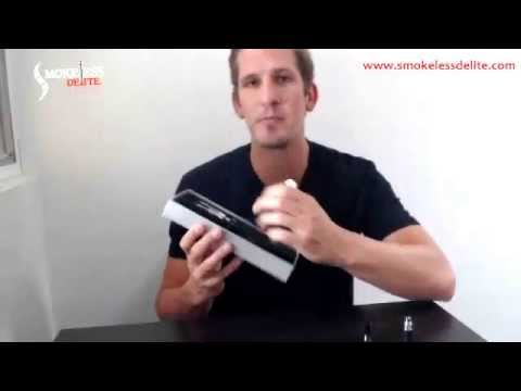 Ego-T Electronic Cigarette Starter Kit From Smokeless Delite - How To Assemble