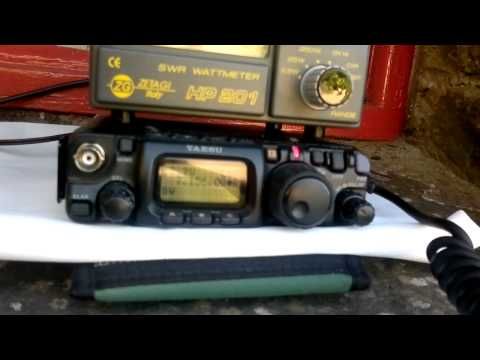 G4KEE 5 watts QRP to my /P operation in Cumbria