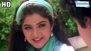 Divya Bharti Takes Rishi Kapoor's Autograph - Deewana Scenes - Hit Bollywood Movie
