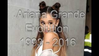 Ariana Grande - Face Evolution 1993 - 2016