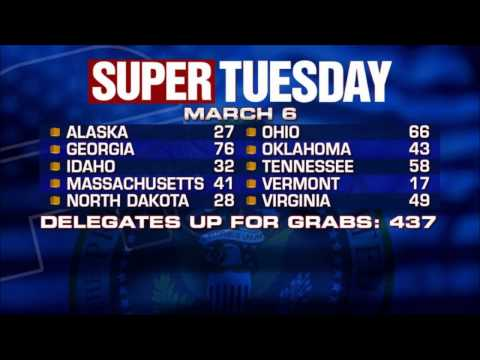 Ron Paul Predicts 3 Wins on Super Tuesday 3/5/12
