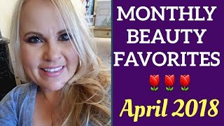 Best In Beauty April 2018 Monthly Makeup Favorites | Mature Beauty Blogger Over 40