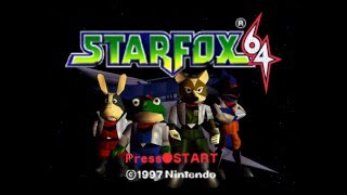 Star Fox 64 - Complete 100% Walkthrough - All Routes, All Medals (Longplay)