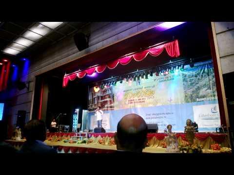Vineeth Sreenivasan live at World Malayalee Sangamam in Zurich 2013