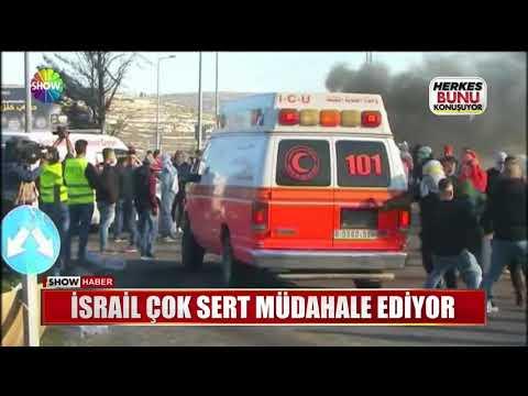 İsrail çok sert müdahale ediyor