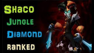 Shaco Diamond Ranked - Dark Harvest Shaco Full Gameplay [League of Legends]