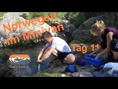 Norwegen im Minicamper Tag 11 Waschtag