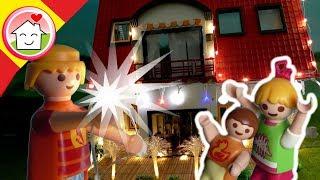 Playmobil en español El apagón en Navidad - La familia Hauser cine infantil