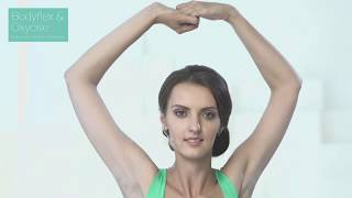 Как похудеть в области рук и спины? Упражнение