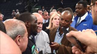 Terence Crawford and Bob Arum after Diaz KO