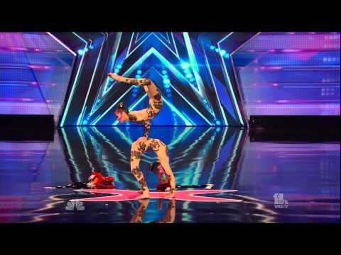 Contortion Sisters Americas Got Talent 2014