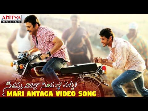 Seethamma Vakitlo Sirimalle Chettu Movie || Mari Antaga Full Video Song
