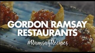Tuna Tartare Recipe   Gordon Ramsay