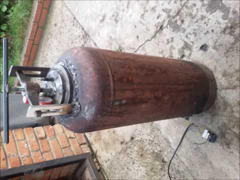 Как сделать газовый мангал своими руками