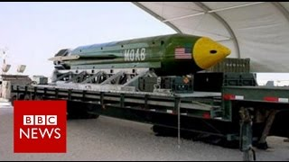 US drops 'mother of all bombs on IS' - BBC News