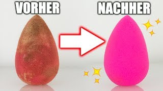 BEAUTY BLENDER REINIGEN: 8 HACKS & METHODEN | KINDOFROSY