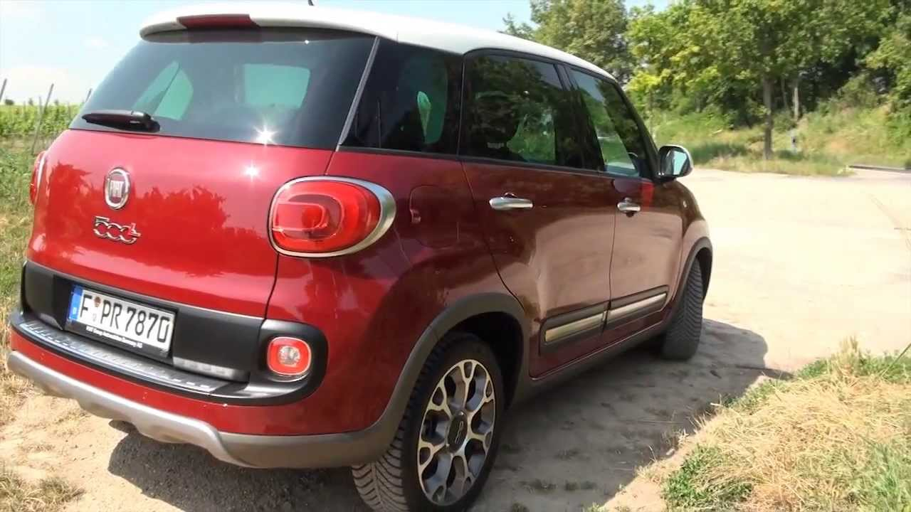 fiat 500 l trekking test review exterior and usability. Black Bedroom Furniture Sets. Home Design Ideas