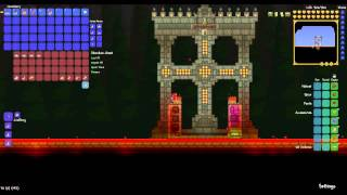 Terraria: Crushing Pumpkin Moon with an easy-to-build Cannonball Arena