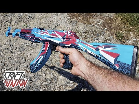 HOW TO MAKE AK-47 POINT DISARRAY IN REAL LIFE (CS:GO,DIY)